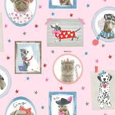 Puppy Wallpaper For Bedroom Dog Themed Wallpaper Animal Love Pug Puppy Various Designs