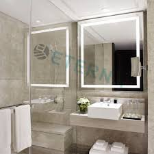 Hotel Bathroom Lighted Mirror Ip44 Ce Ul Etl Hotel Rectangle Vanity Mirror Shape And Led Bathroom Large Mirror Buy Large Mirror Led Bathroom Mirror Led Bathroom Miror Product On