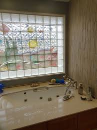 Decorative Windows For Bathrooms Decorative Glass Block Borders For A Shower Wall Or Windows