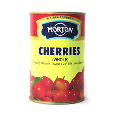 Buy Morton - Canned Cherries - 450g Online in India.