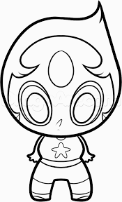How To Draw Chibi Pearl From Steven Universe Step By Step For Steven
