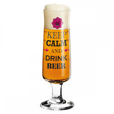 Beer GlasS <b>Keep Calm And Drink</b> Beer