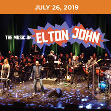 Simsbury Performing Arts Center Seating Chart The Music Of Elton John Hartford Symphony Orchestra