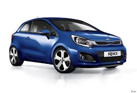 for the first time ever the kia rio is available with two less doors the three door car is available to order now