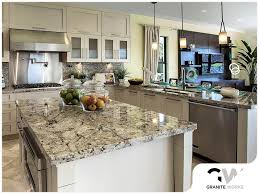 hard water stains from granite countertops
