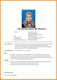 Good Resume Example In Malaysia | Dadaji.us