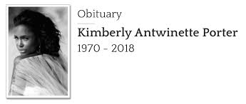 The Official Kimberly Antwinette Porter Homegoing Service Thread | Page 10  | Lipstick Alley