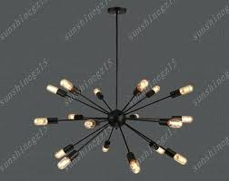 full size of style selections 18 light starburst chandelier bulb socket type not include we