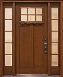 fiberglass craftsman style entry doors