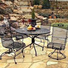 image of woodard patio furniture wrought iron