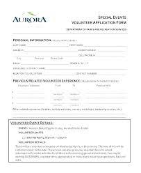 volunteer template volunteer application template word free premium charity form