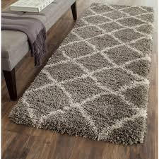 belize gray taupe 2 ft x 7 ft runner rug