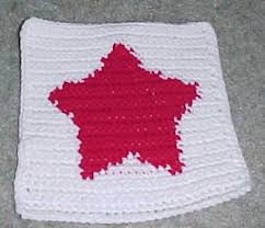 Crochet Star Pattern Free Magnificent ROW COUNT STAR AFGHAN SQUARE Crochet Pattern Free Crochet Pattern