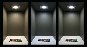 led 5 6 retrofit can light conversion kit on showing beam pattern of warm bulbs for recessed lights