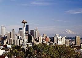 Seattle Cityscape Amazon Com Seattle Cityscape Seattle Washington 02