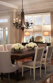 swag chandelier over dining table improbable kitchen light fixtures bowl home design ideas