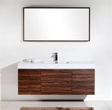 modern single bathroom vanity. Alternative Views: Modern Single Bathroom Vanity O