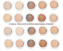 L Oreal True Match Shade Chart Latest Must Have Cosmetics From Loreal Stylegods