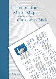 Homeopathy Repertory Chart Remedies Of The Class Aves Birds Mind Map 4