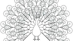 Peacock Color Page Mindfulness Coloring Page Design Metabolismdiet