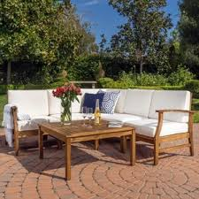 Wood Patio Furniture You ll Love