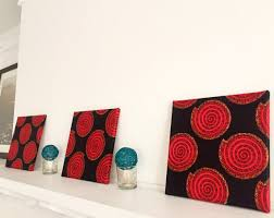 on african cloth wall art with fabric wall art ankara african wax print 12 x
