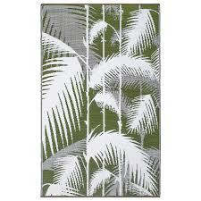 havana green recycled indoor outdoor mat
