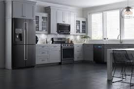Kitchens With Black Appliances Kitchen Awesome Kitchen Color Ideas Oak Cabinets Black