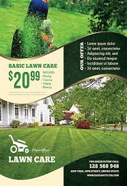 lawn care advertising templates lawn care free flyer psd template by elegantflyer
