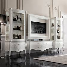 italian white furniture. luxury italian white display cabinet media room furniture r