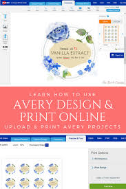 Avery Design Print Download Learn How To Upload And Print A Project To Avery Design