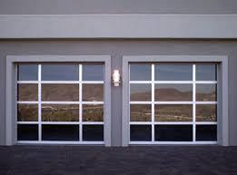 D Custom Modern Glass Garage Doors