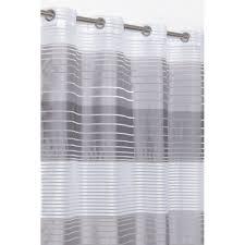 Gardine Lang 140 X 280 Cm Blickdichte Und Transparente Streifen ösen