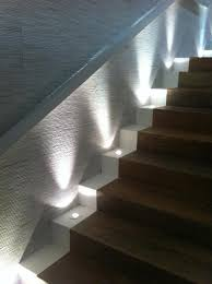 stair lighting. lighting features these lowvoltage lights raise the light on stair case and a