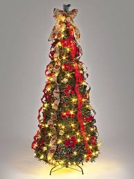 1.8M (6ft) 150 LED Pre-Lit Pop-Up Decorated Christmas Tree