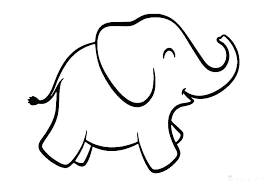 Elephant Coloring Page Pictures To Color In Addition And Pages Fresh