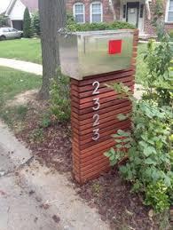 modern mailbox ideas. Matthew\u0027s Palm Spring 4\ Modern Mailbox Ideas