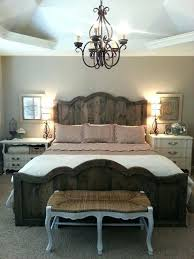 chic bedroom furniture. Farmhouse Chic Bedroom Love My New French Bed And Rustic Industrial Vintage Furniture