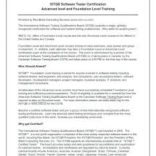 Software Testing Sample Resume Best of Software Tester Resume Format Joggnature