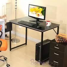 office study desk. 100*48cm Modern Study Computer Table Space Saving Office Desk I