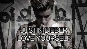 Image result for Justin Bieber - Love Yourself (PURPOSE : The Movement) image youtube