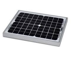 12v <b>10w Solar Panel</b> Monocrystalline 335x280. 5yr Component ...