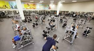LA Fitness Weight Room