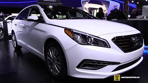 hyundai sonata 2015 exterior. 2015 hyundai sonata limited exterior and interior walkaround montreal auto show youtube