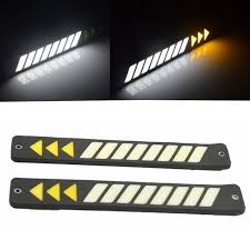 <b>2pcs Car</b> Head <b>Light</b> COB <b>LED</b> Daytime Running <b>Lights</b> DRL Fog ...