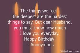 Birthday Quotes For Husband Beauteous Happy Birthday Husband Quotes