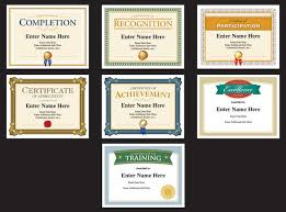Professional Certificates Templates Professional Certificate Templates Awards To Recognize Participation