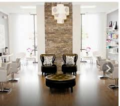 Hair salons ideas Salon Decorating Love The Exposed Brick The Leather Chairs And The Whitethat Should Be Retail Waiting Area Not The Actual Salon Pinterest Salonsu2026 Pinterest Yaaaaassssi Love The Exposed Brick The Leather Chairs And The