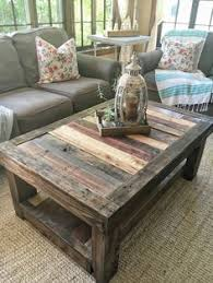 Rustic Pallet Coffee Table U2022 1001 PalletsPallet Coffee Table