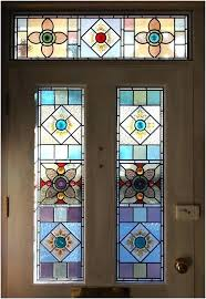 stained glass panels for front doors door a guide on leaded exterior